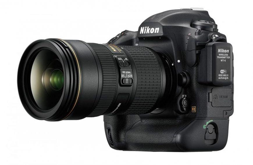 Przywołanie parametrów fotografowania waktualizacji oprogramowania Nikona D5