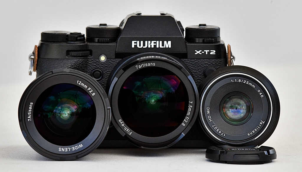 Wide angle 7Artisan lenses for FX