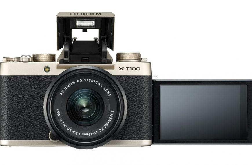Fujifilm X-T100: duży wizjer elektroniczny iwpełni ruchomy ekran