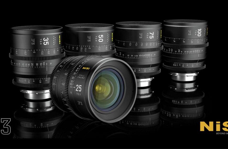 Obiektywy orazfiltry dofilmowania firmy Nisi