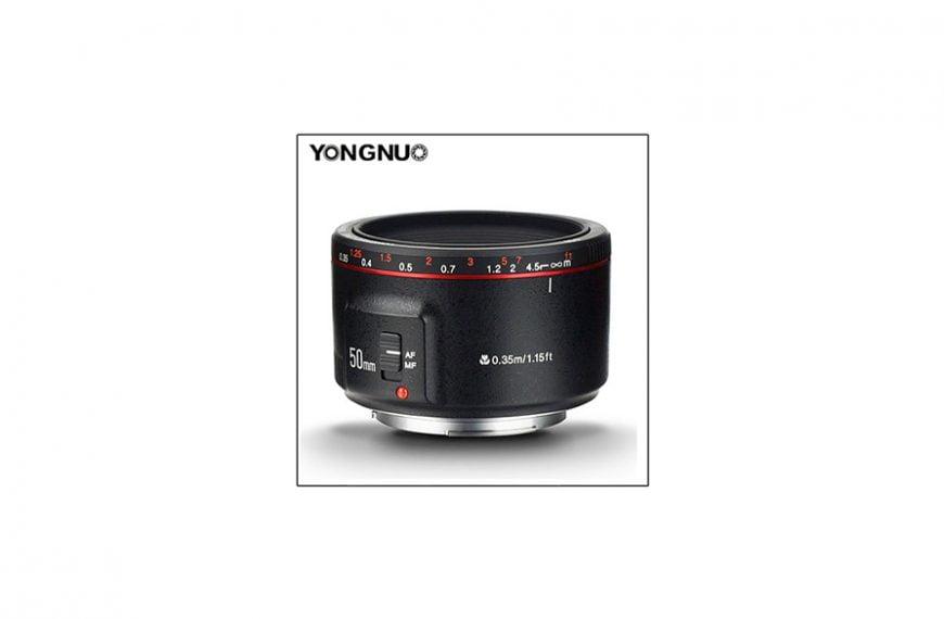 """Firma Yongnuo wypuszcza obiektyw YN 50 mm f/1,8 II, czyli drugą wersję taniej """"pięćdziesiątki"""""""