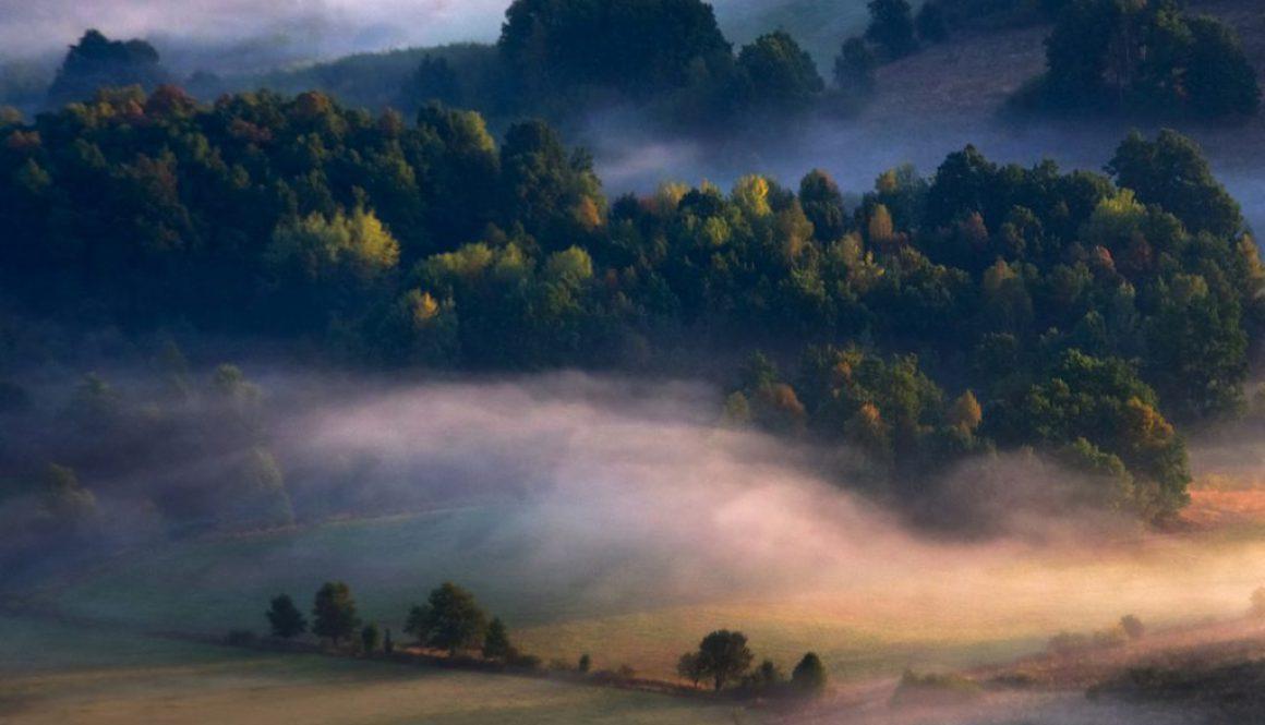 bednarz marek interfoto fotografia krajobrazowa pejzaż góry mgła wschód słońca przestrzeń