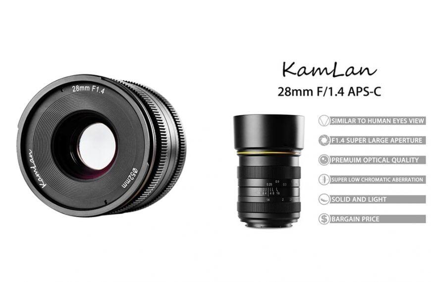 Obiektyw domatryc formatu APS-C: Kamlan 28 mm f/1,4
