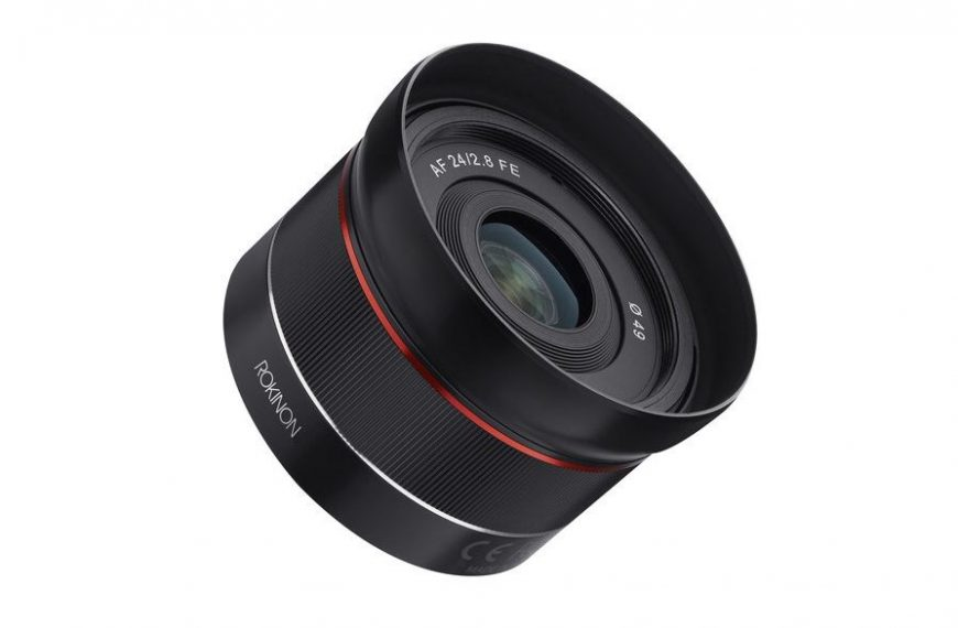 Samyang oficjalnie ogłasza premierę obiektywu AF 24 mm f/2,8 wmocowaniu Sony FE