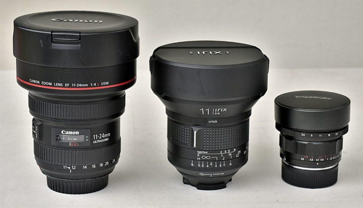 """interfoto-brzeziński-jarosław-porównanie-obiektywów-Canon EF 11-24 mm f/4L USM- IRIX 11 mm f/4 """"Firefly""""-Voigtländer Heliar-Hyper Wide 10 mm f/5,6 Aspherical"""