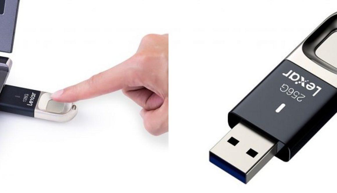 Lexar-Flash-Fingerprint-Reader