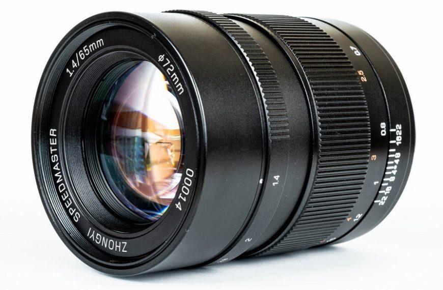 Firma Zhong Yi Optics wypuszcza narynek obiektyw Mitakon Speedmaster 65 mm f/1,4 doaparatów Fujifilm GFX
