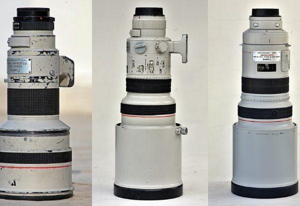 Canon 300 mm f/2,8 x 5, czyli (prawie) wszystkie wcielenia jasnej trzysetki Canona. Część II