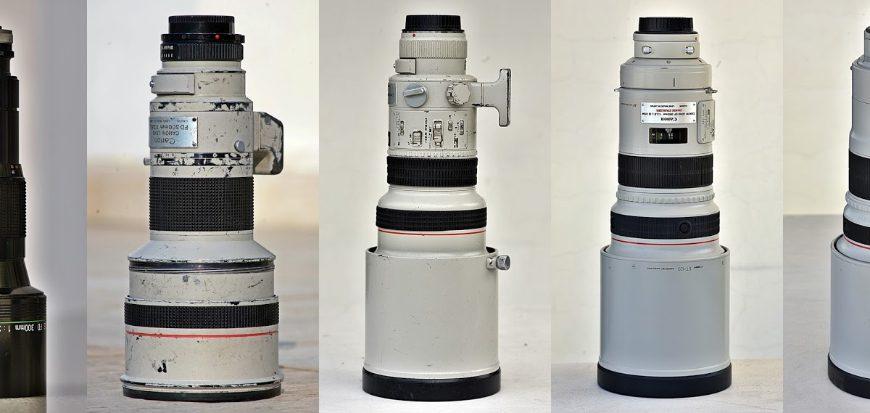 Canon 300 mm f/2,8 x 5, czyli (prawie) wszystkie wcielenia jasnej trzysetki Canona. Część III