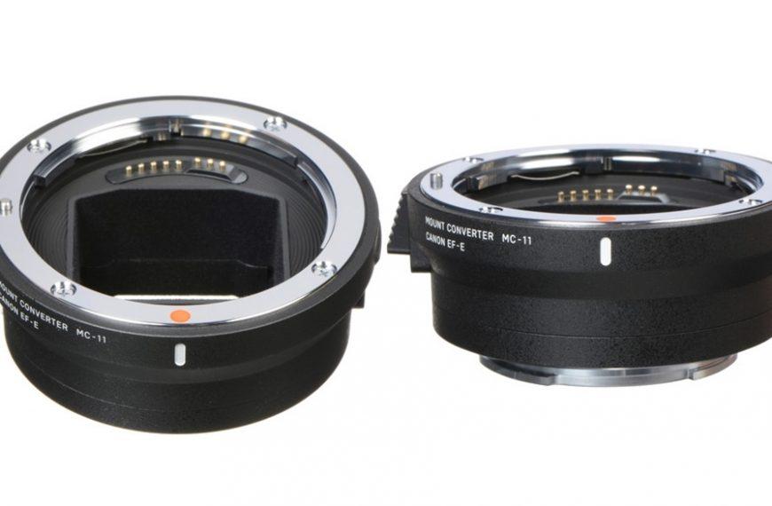 Sigma wypuszcza aktualizacje oprogramowania dla obiektywów wmocowaniu Canon EF iNikon F orazadaptera MC-11