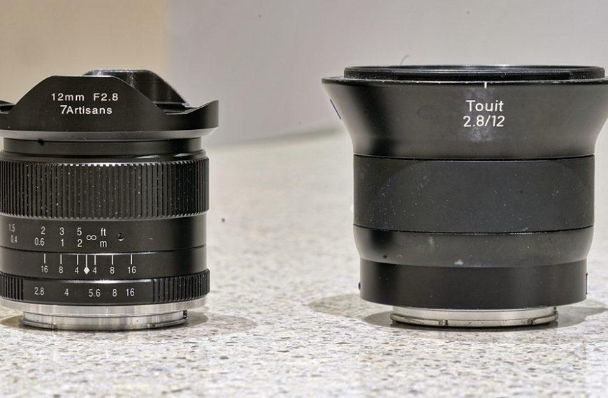 Zeiss Touit kontra 7Artisans: 12 mm f/2,8 naSony a6000