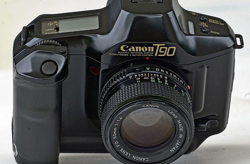 Canon T90: Aneks. Uchwyt pionowy domowej roboty