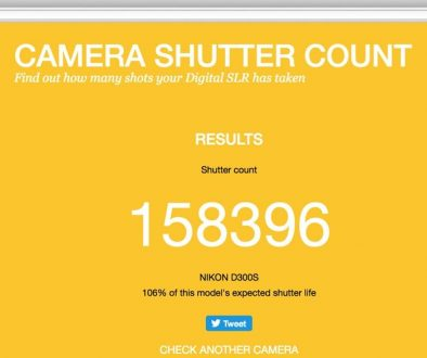 Camera-Shutter-Count