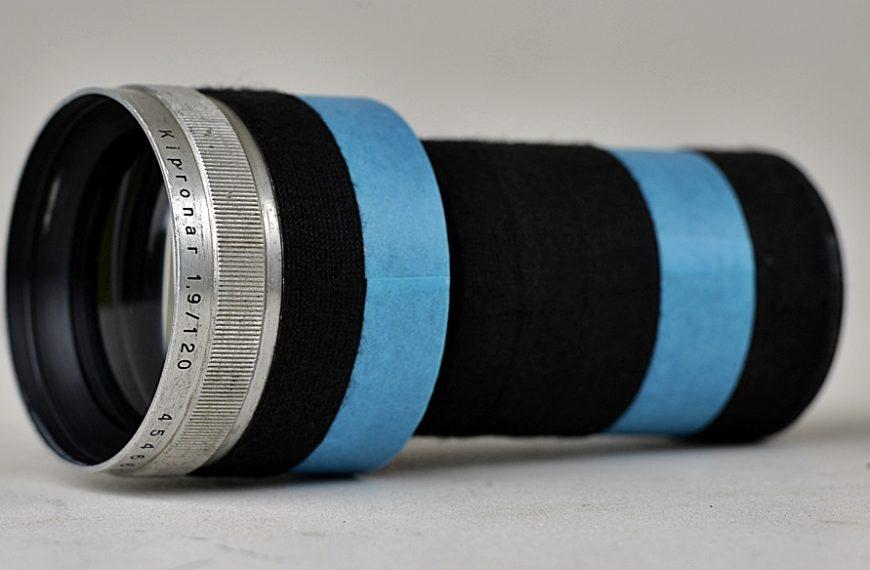 Carl Zeiss Kipronar 120 mm /1,9: wirowanie izmiękczanie