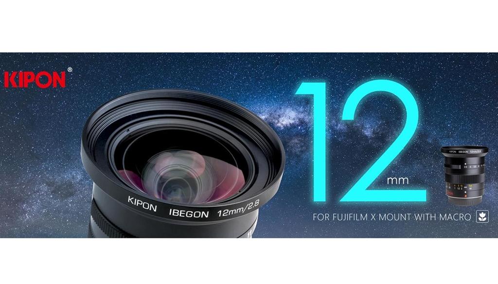 Kipon 12 mm F/2,8 w mocowaniu Fujifilm X
