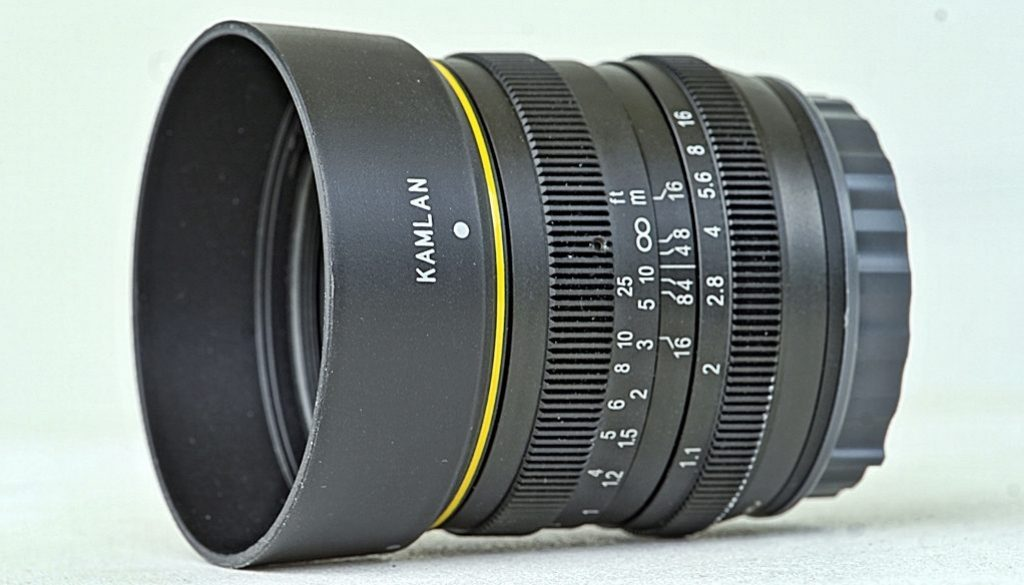 Kamlan-50mm-f1.1