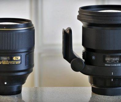 Nikkor-Sigma-105mm-f1.4
