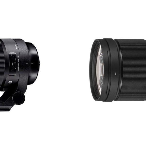 "Obiektywy Sigma 40 mm F/1,4 oraz105 mm F/1,4 ""Art."" wmocowaniu L"