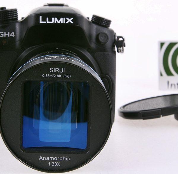 Anamorficzny obiektyw Sirui 50 mm f/1,8 1,33x