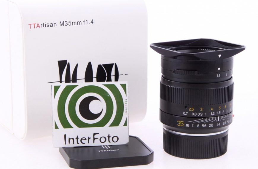 Specyfikacje obiektywu TTArtisan M35 mm f/1,4