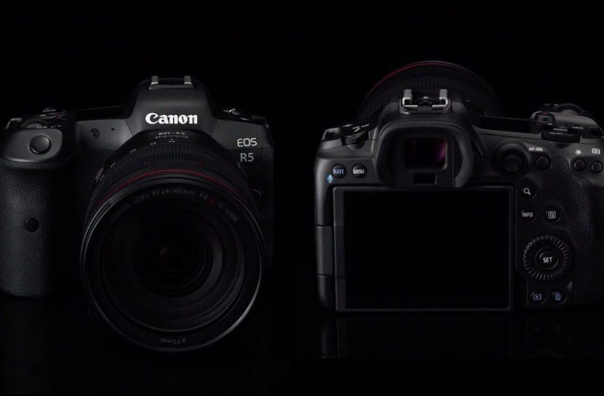 Canon EOS R5: wewnętrzna rejestracja wideo 8K/30p plus autofokus zzaawansowanych wykrywaniem zwierząt