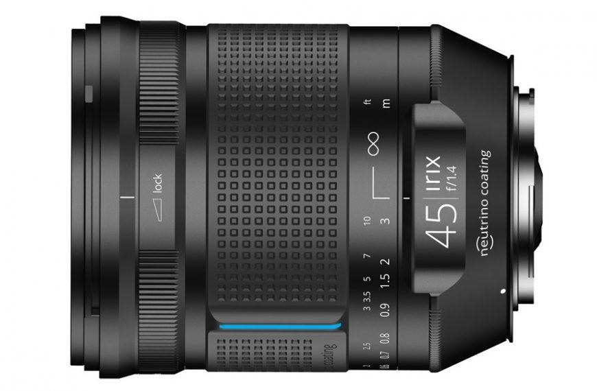 Irix 45 mm F/1,4 wmocowaniach Canon EF, Nikon F iPentax K
