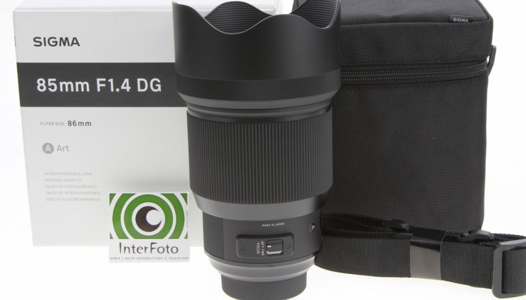 Sigma 85 mm f/1,4 HSM DG Art: Sztuka itechnika wjednym