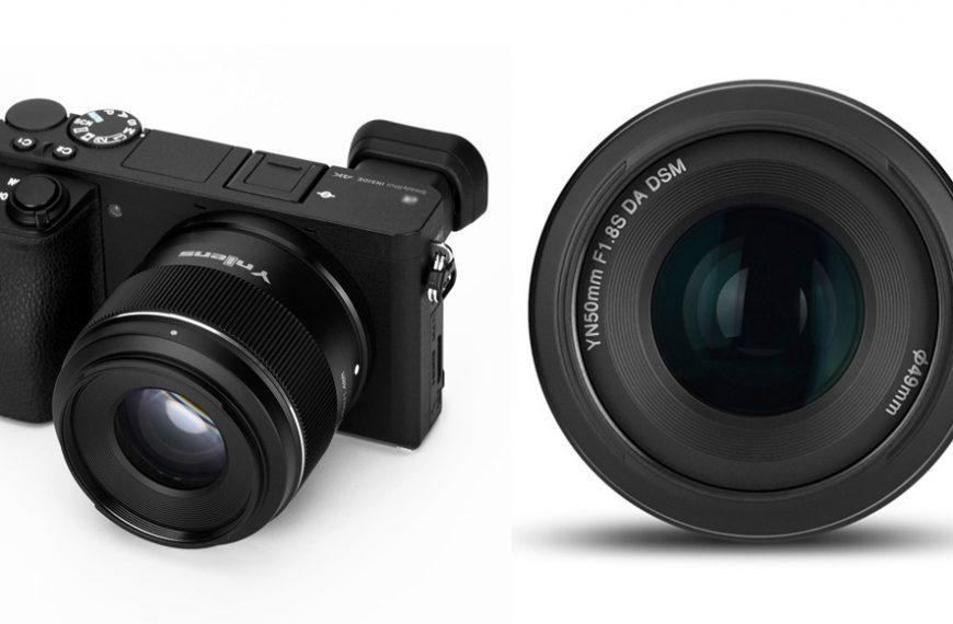 Obiektyw z autofokusem Yongnuo 50 mm F/1,8 dla matryc APS-C w mocowaniu Sony E
