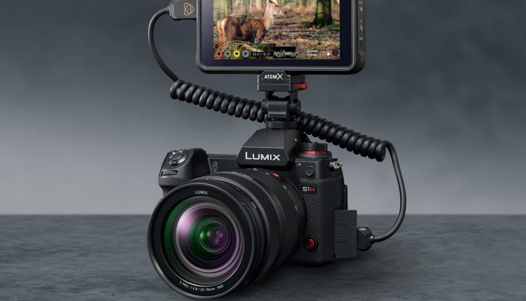 5.9K ProRes Raw wideo dla aparatu Panasonic Lumix DC-S1H