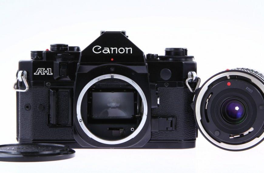 Canon A-1: klasyczny wielotrybowiec