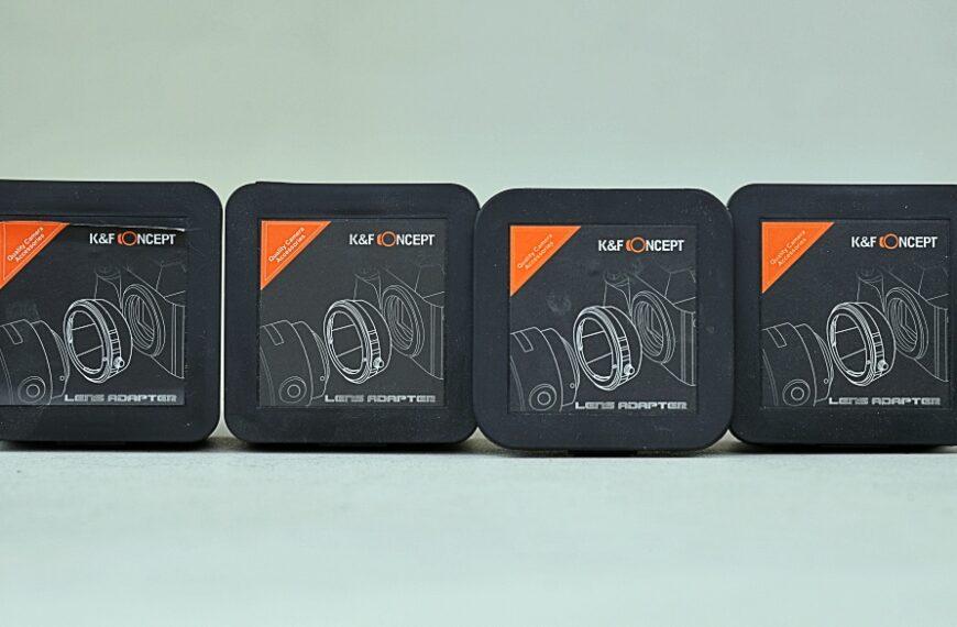 Adaptery K&F Concept: dobra jakość w dobrej cenie