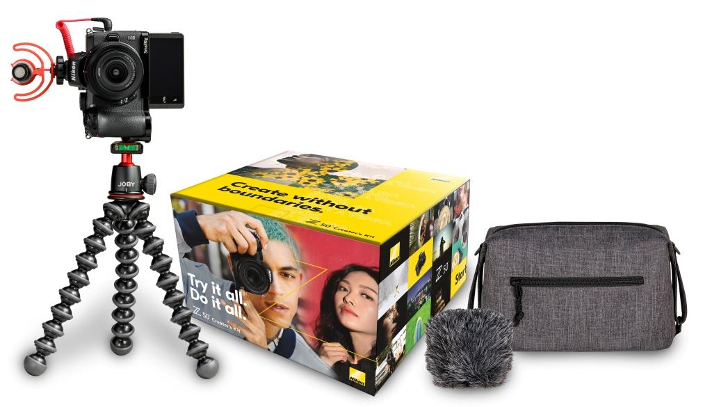 "Zestaw Nikon Z50 ""Creator's Kit"""