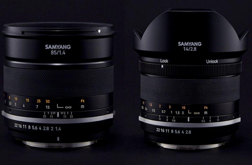Samyang wypuszcza drugie wersje obiektywów 14 mm F/2,8 i85 mm F/1,4