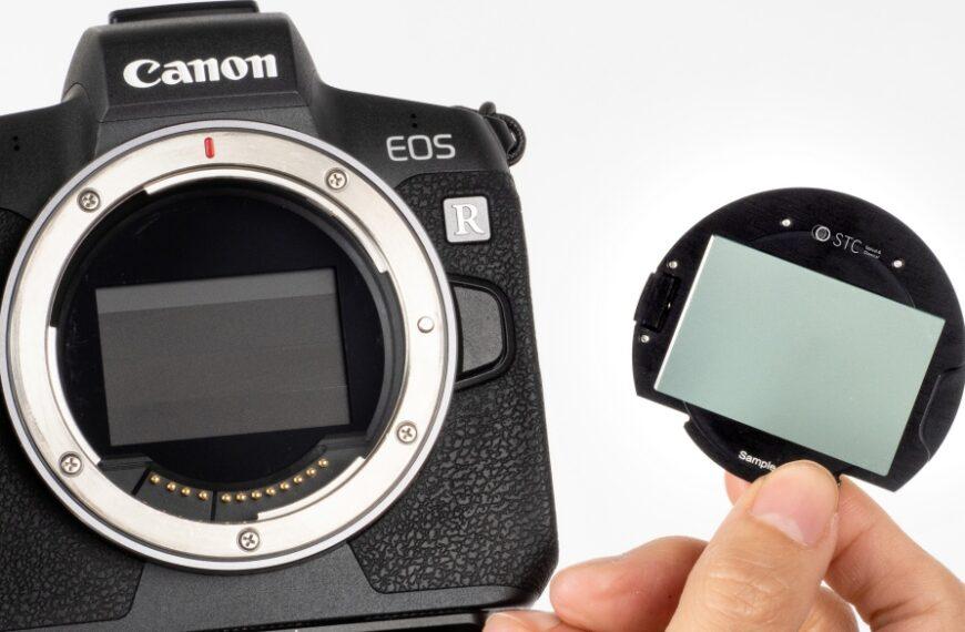 STC wprowadza system filtrów umieszczanych przedmatrycą dla Canona EOS R