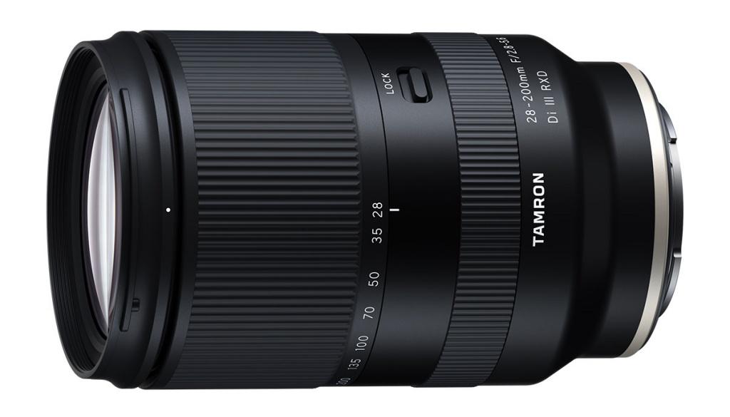 Tamron 28-200 mm f/2,8-5,6 wmocowaniu Sony E