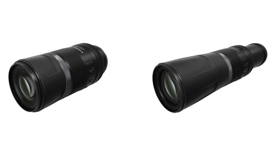 Obiektywy Canon RF 600 mm f/11 iCanon RF 800 mm f/11 IS STM orazkonwertery 1,4x i2x