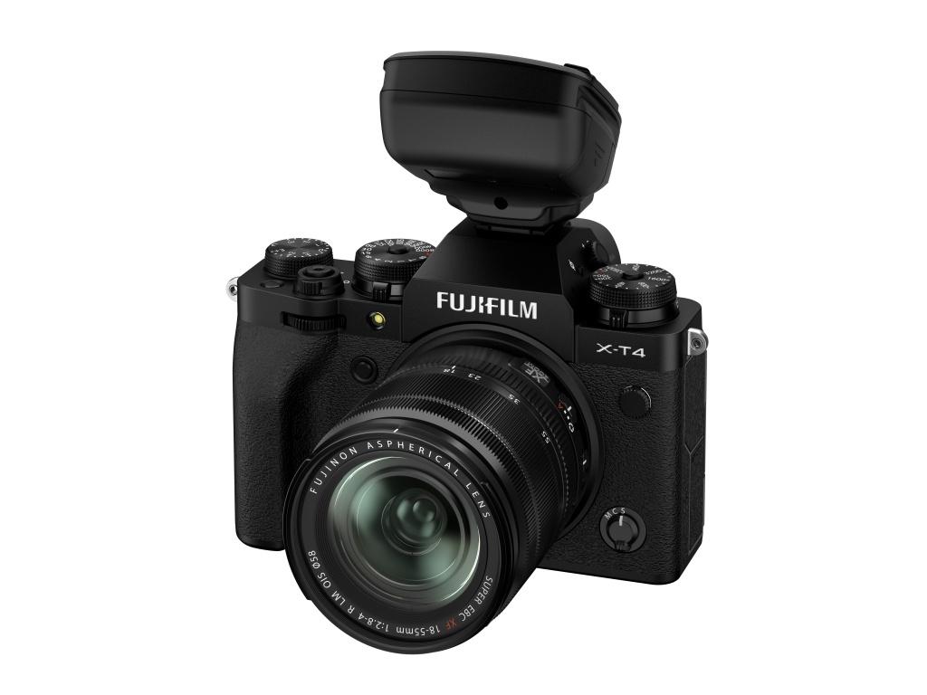 Fujifilm wprowadzi nową lampę błyskową EF-60 orazwyzwalacz bezprzewodowy EF-W1 dosystemów X iGFX