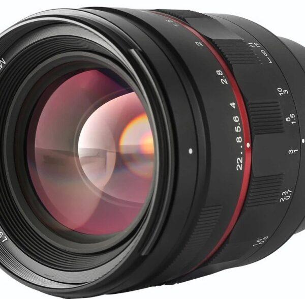 Obiektyw Meike 50 mm F/1,2