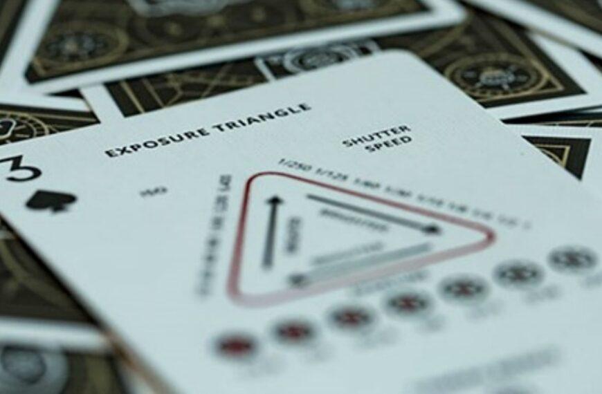 Photography Deck: talia kart uczących podstaw fotografowania