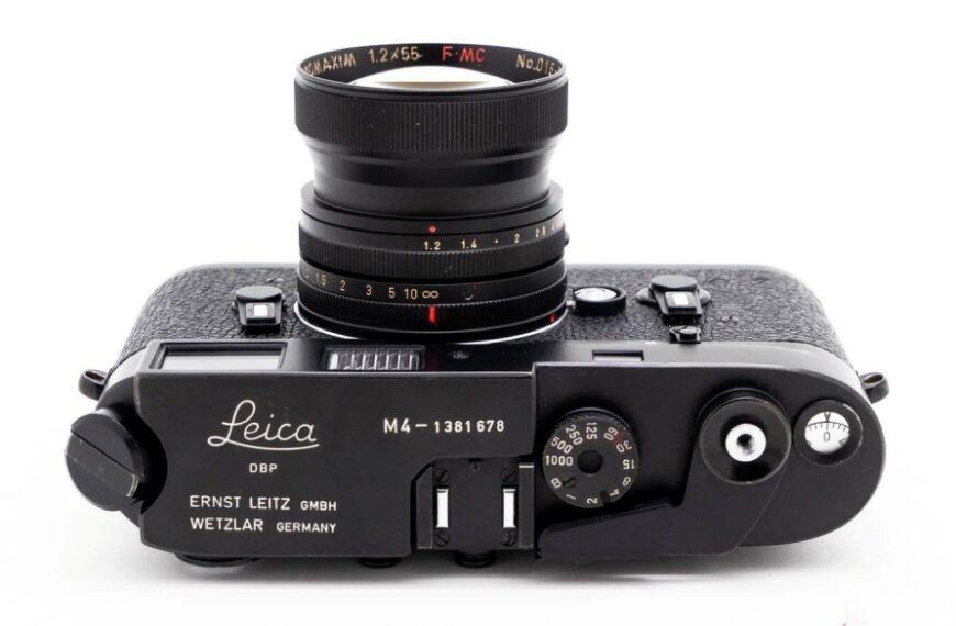 Firma MS Optics wprowadzi obiektyw Elnomaxim 55 mm F/1,2 wmocowaniu Leica M