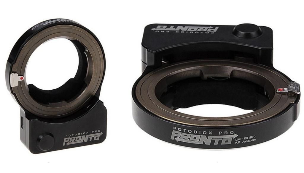 Adapter Fotodiox: autofokus zobiektywami Leica M naaparatach serii Fujifilm X