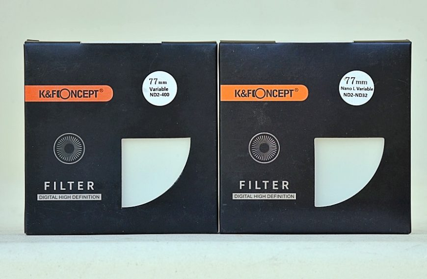 Filtry neutralne szare ozmiennej gęstości firmy K&F Concept