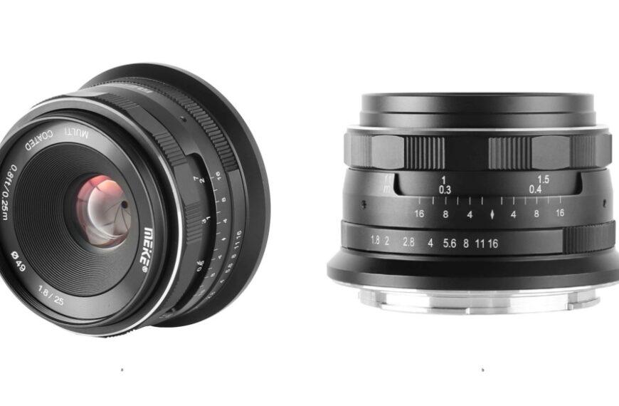 Manualny obiektyw Meike 25 mm F/1,8 wmocowaniu Nikon Z