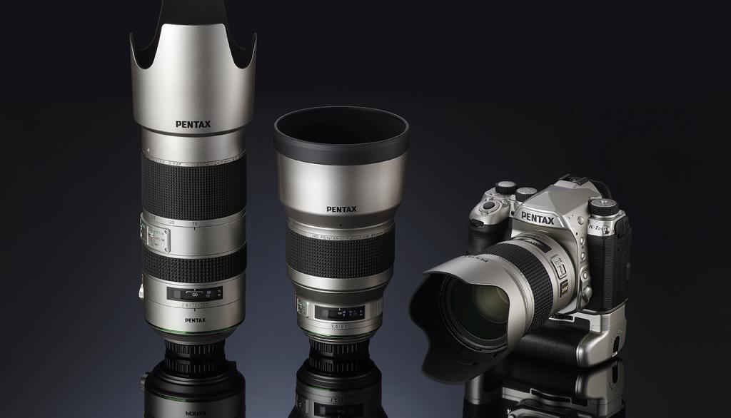 Ricoh Silver Edition czyli srebrne wersje lustrzanki Pentax K-1 Mark II oraztrzech obiektywów D FA*