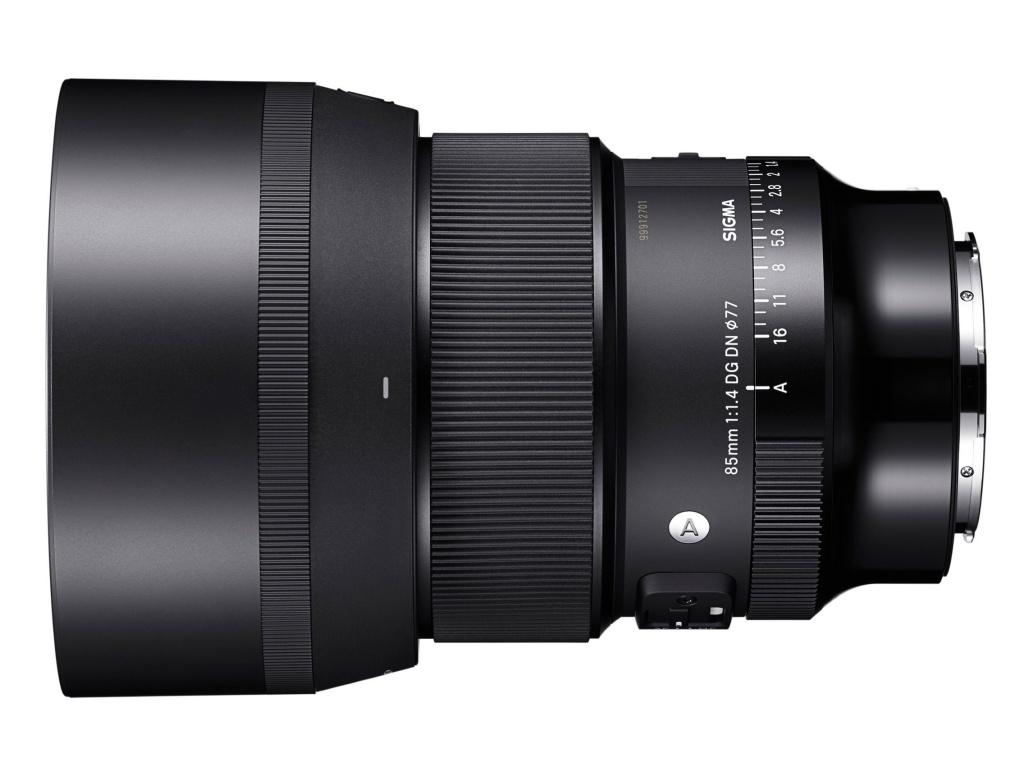 Sigma 85 mm F/1,4 DG DN Art wmocowaniach E iL