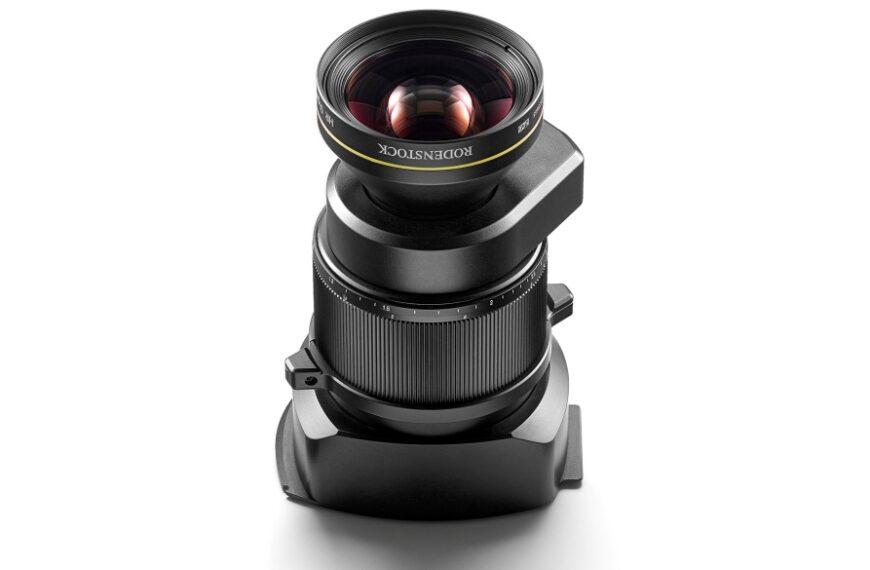 Obiektyw Rodenstock 90 mm F/5,6 dosystemu Phase One XT Camera System
