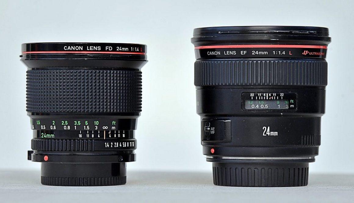 Canon -FD-EF-24mm-f1.4L