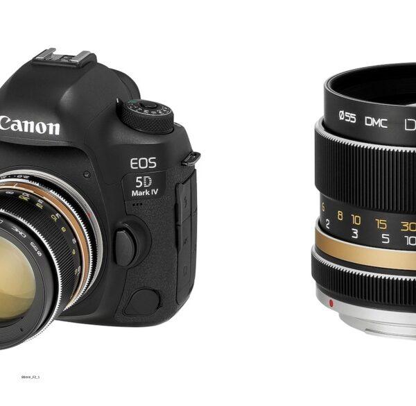 Firma Jakumei Optics: obiektyw Dulens APO 85 mm F/2 wmocowaniach Canon EF, Nikon F