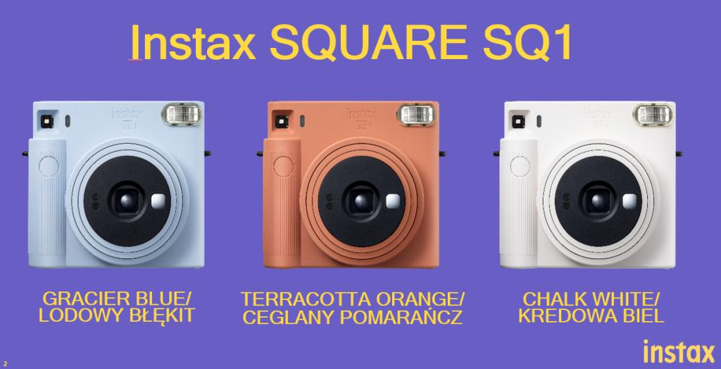Fujifilm Instax SQ 1 – następca SQ6