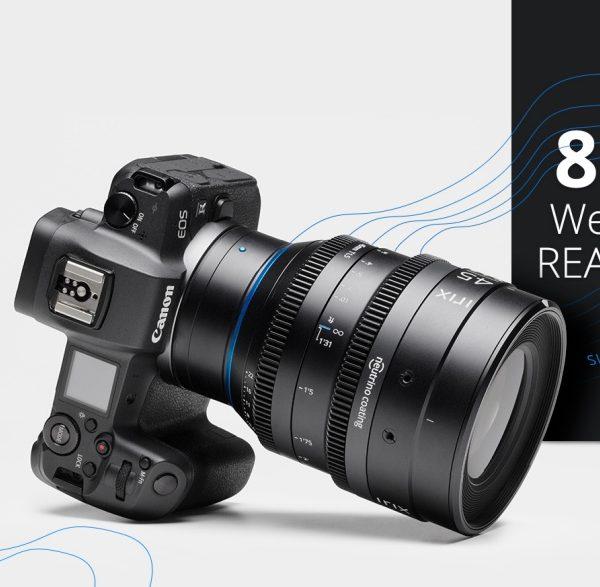 Obiektywy filmowe IRIX w mocowaniach Canon RF, Nikon Z i Leica L